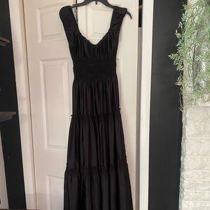 peasant style maxi dress.